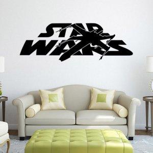 3d Efekt Napis Star Wars Naklejki Scienne Sciane 6064125981