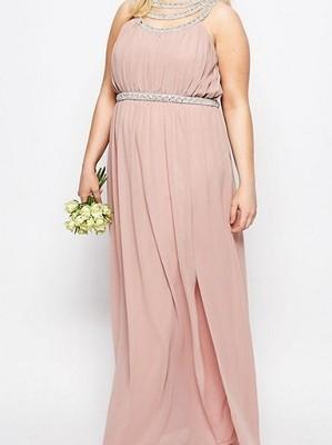 Jb22 Sukienka Tfnc Plus Maxi Wesele Glamour 48 6785004405