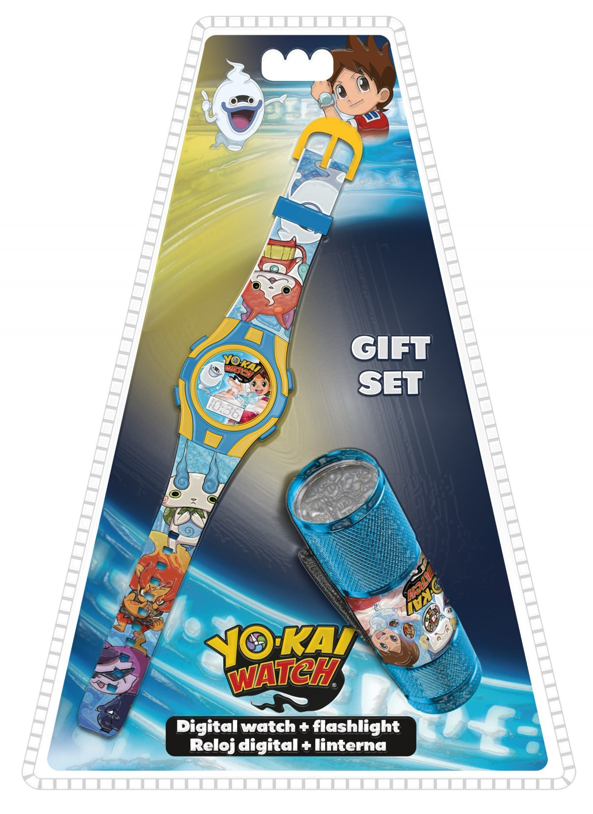Zegarek na rękę + latarka Yo-Kai Watch MEGA
