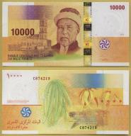 -- KOMORY 10000 FRANCS 2006 C P19a UNC