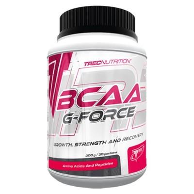 TREC BCAA G-FORCE - 300 g AMINOKWASY + glutamina