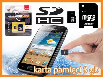 Karta Pamieci 8gb Do Samsung Galaxy J1 J2 J3 J5 J7 5606877234