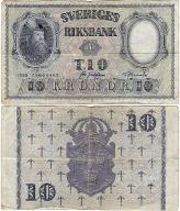 Szwecja, 10 Kronor 1958, P. 43f