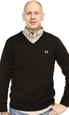 FRED PERRY SWETER V-NECK