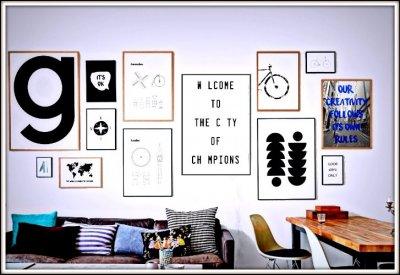 Plakaty 50x70 Styl Skandynawski Loft Motywacyjne