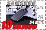ETUI 0,3mm SAMSUNG GALAXY S3 S4 / S3 MINI S4 MINI