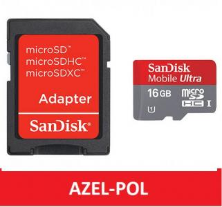 SanDisk Mobile Ultra microSDHC 16GB class10 30MB/s