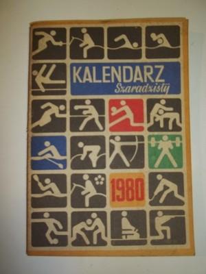 Kalendarz Szaradzisty 1980r 6597439263 Oficjalne