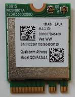 Karta WLAN WiFi AC Atheros QCNFA344A M2 867Mbps