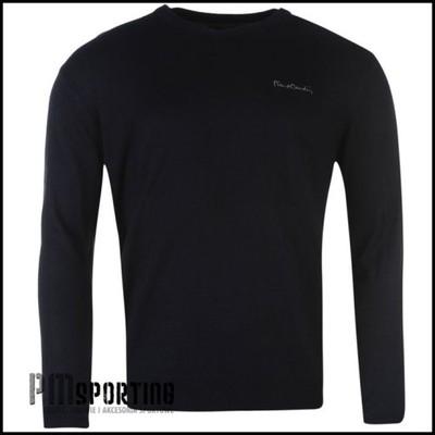 Sweter Pierre Cardin XL serek granatowy