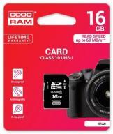 Karta pamięci 16GB SDHC GOODRAM UHS-1 Class10