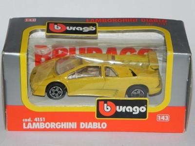 Bburago 1 43 Lamborghini Diablo 7007144361 Oficjalne Archiwum