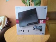 PS3 Slim 320 Gb + Gry