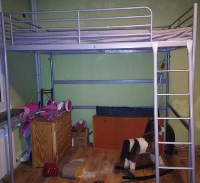 łóżko Na Antresoli Ikea Tromso 140x200 Warszawa