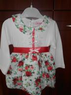 Nowa sukienka r.12 mies.(80) Okazja
