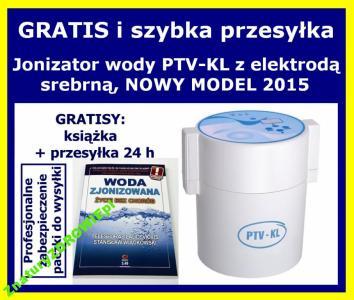 JONIZATOR wody PTV-KL + gratisy, NOWY MODEL 2015