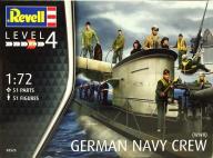 Model do sklejania REVELL Figurki German Navy Crew