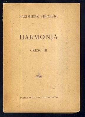 HARMONIA część III; Kazimierz Sikorski; 1949
