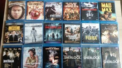 Kolekcja filmów BD + odtwarzacz blu-ray