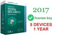 kaspersky total security 2017 multidevice 5pc/1y