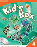 Kids Box 4 Activity Book with CD-ROM