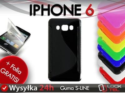 ETUI GUMA SILIKON CASE IPHONE 6 6S 6G 4.7 + FOLIA - 6294914486 ... b95c7fcf964