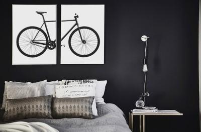 Plakaty Rower 2x 50x70 Styl Skandynawski Loft Bike