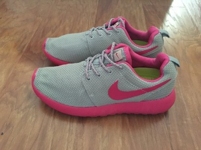 nowe NIKE ROSHE RUN szaro różowe fitness 38 39 6531622242