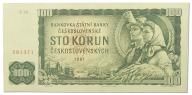 17.Czechosłowacja, 100 Koron 1961, P.91.b, St.2/3+
