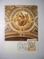 Pałac Watykański apartamenty... freski Rafaela.