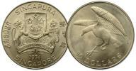 12.SINGAPUR, 10 DOLARÓW 1974 SOKÓŁ