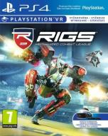 RIGS MECHANIZED COMBAT LEAGUE PS4 PS VR NOWA FOLIA