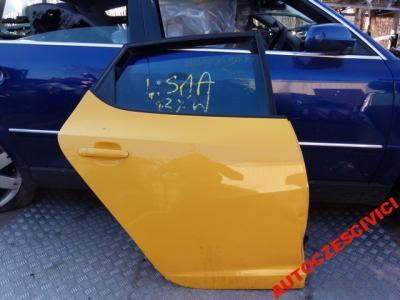 DRZWI TYL TYLNE PRAWE SEAT IBIZA 08R 5D 6J0 LS1A