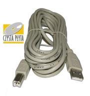 Kabel USB 2.0 - USB 1.1 - A | B - długość 3m