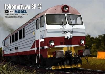 NOWOŚĆ! Lokomotywa SP 47 skala 1:25 Angraf Model