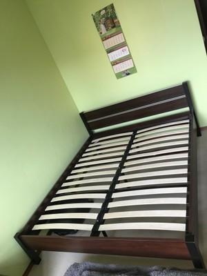 Modne łóżko Kolor Latteorzech Meble Bodzio