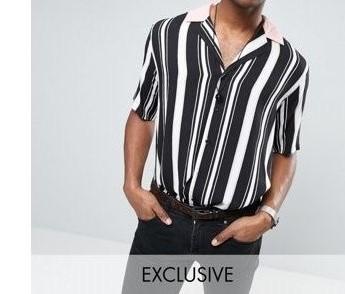 P10 koszula paski L