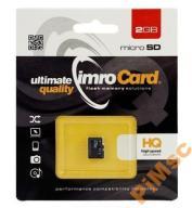 KARTA pamięci MICRO SD nie HC IMRO 2GB