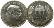 25.WĘGRY, FRANC.JÓZEF, 5 KORON 1908