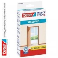 Moskitiera drzwiowa tesa Standard 1,2 x 2,2 biała