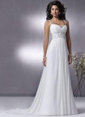 Suknia ślubna Prosta 6647790437 Oficjalne Archiwum Allegro