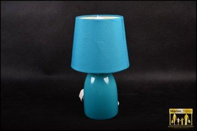 Nietypowy Okaz 6456-6GOLF BALL.. LAMPKA NOCNA TURKUSOWA MINI - 6471137976 NP55