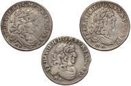 041. Prusy zestaw szóstaków 1679, 1681, 16?? (3sz)