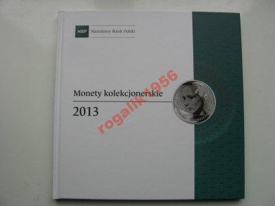 NBP monety i banknoty kolekcjonerskie 2013 OKAZJA