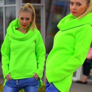 bluza neonowa allegro