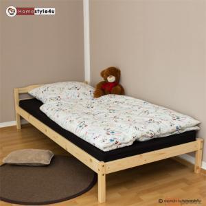 łóżko Drewniane Młodzieżowe Pojedyncze 200x90 5775649438