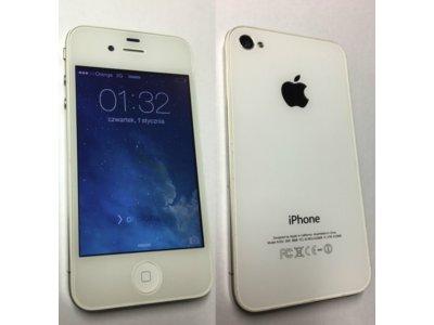 Iphone 4 8gb Ios 7 1 2 Brak Blokad Bialy Od 1 Zl 6650734573 Oficjalne Archiwum Allegro
