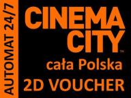 CINEMA CITY voucher bilet 2D do 2018 -AUTOMAT 24/7