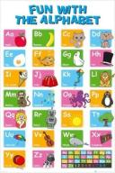 Educational Alphabet (Alfabet) - plakat 61x91,5 cm