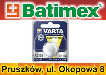 Bateria CR2450 CR2450N BR2450 DL2450 Varta 3.0V